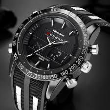 Ceas Military READEEL 2 fusuri orare, cronograf, data, waterproof 30M alarma