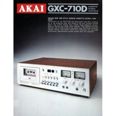 Casetofon Deck Akai GXC-710D - Deck audio