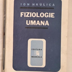 Fiziologie Umana, de Ion Haulica 1989