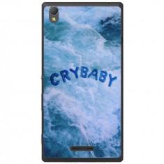 Husa Crybaby Girl Sony Xperia T3 - Husa Telefon