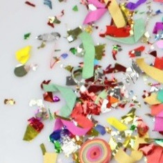 Tun confetii Party Popper 58 cm - 9 lei