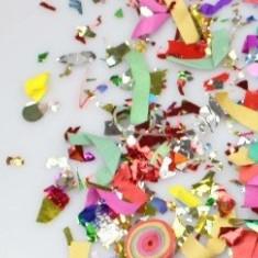 Tun confetii Party Popper 58 cm - 9 lei - Decoratiuni botez