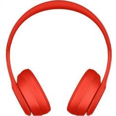 Casca de Telefon Beats Casti Wireless Solo 3 On Ear Rosu - Bijuterii Telefon