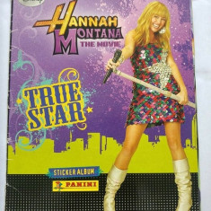 Stiker Album Panini Hannah Montana The Movie, Disney, True Star, - Cartonas de colectie