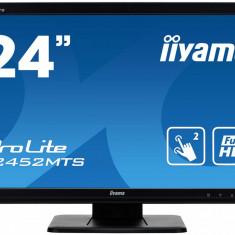 Monitor TouchScreen iiyama ProLite T2452MTS, 23.6