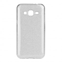 Husa Samsung Galaxy J3 2016 Forcell Shining Argintie - CM11016