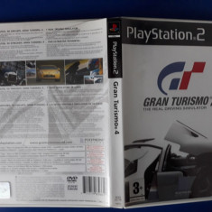 Gran Turismo 4 - PS2 (Playstation 2) - Jocuri PS2 Sony, Curse auto-moto, 3+, Single player