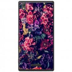 Husa Gorgeous Flowers Sony Xperia T3