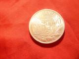 Moneda 25 000 lei 1946 Mihai I -argint cal. apr. NC