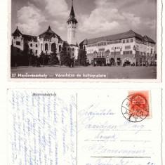 Targu Mures 1942 - Palatul Culturii, ilustrata circulata