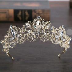 Coronita diadema tiara nunta mireasa ocazii