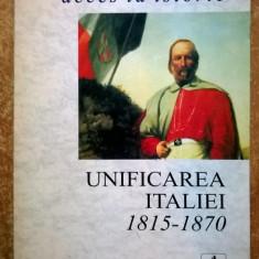 Andrina Stiles – Unificarea Italiei 1815-70 - Carte Istorie