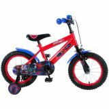 Bicicleta cu Roti Ajutatoare Ultimate Spiderman 14 inch