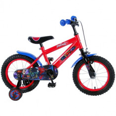 Bicicleta cu Roti Ajutatoare Ultimate Spiderman 14 inch - Bicicleta copii