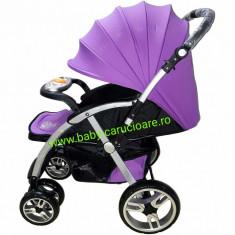 Cărucior nou născut Baby Care FK 8600 - Mov