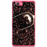 Husa Coffee Beans Sony Xperia Z1 Compact D5503