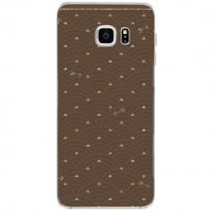 Husa Gold Pattern SAMSUNG Galaxy S6 Edge Plus - Husa Telefon