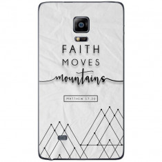 Husa Faith Moves Geometric Background SAMSUNG Galaxy Note 4 Edge