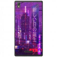 Husa Cyberpunk Sony Xperia T3 - Husa Telefon