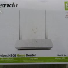 Wireless N 300 home router nou sigilat(livrare gratuită) - Router wireless Tenda, Porturi LAN: 4