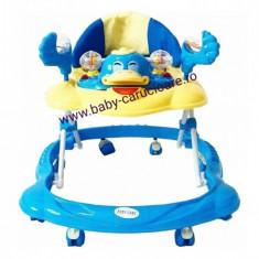 Premergător Baby Care ratusca- albastru