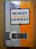 E. Savin, s.a. - Dictionar roman-german