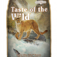 Taste of the Wild Canyon River Re?et? pentru feline cu p?str?v ?i somon afumat 7 Kg - Hrana pisici