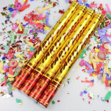 Tun confetti Party Popper 98 cm - 12 lei