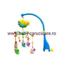 Carusel muzical New Baby Musical albinute - Carusel patut