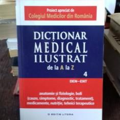 DICTIONAR MEDICAL ILUSTRAT DE LA A LA Z VOL.4 - Dictionar ilustrat