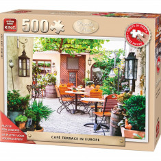 Puzzle King 500 CAFE TERRACE IN EUROPE