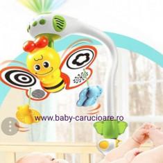 Carusel muzical cu proiecție The Butterfly - Carusel patut
