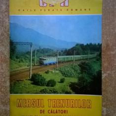 Mersul trenurilor de calatori 27 mai 1979-31 mai 1980