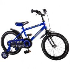 Bicicleta cu Roti Ajutatoare Hero 16 inch - Bicicleta copii