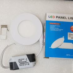 Spot LED 3W rotundslim mat lumina calda - poze reale