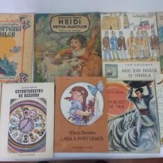 LOT 11 CĂRȚI PENTRU COPII/ DIFERITE TITLURI/ ANII 1980 - Carte de povesti
