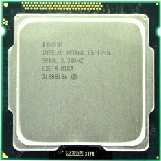 Procesor socket 1155 Intel Xeon 4core/8 threads E3-1245 3.3GHz +cooler - Procesor PC Intel, Numar nuclee: 4, Peste 3.0 GHz