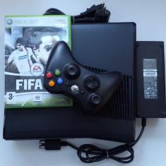 Consola Microsoft Xbox 360 Slim 250Gb Modat RGH jocuri Gratis FIFA 18 GTA 5