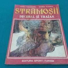 STRĂMOȘII *DECEBAL ȘI TRAIAN /RADU THEODORU, SANDU FLOREA/ BENZI DESENATE/ 1981 - Reviste benzi desenate