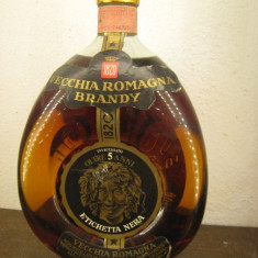 RARE brandy vecchia romagna, CC 1500 GR 40 ANI 1960 MAI MULTI VECHI DE 5 ANI - Cognac
