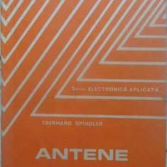 Antene - Eberhard Spindler, 413531 - Carti Electrotehnica