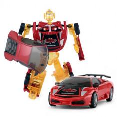 Robotel Transformabil Starry Transformation 2 in 1 Rosu - Masinuta Rastar