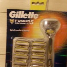 Aparat Gillette Fusion Proshield Flex Ball cu 9 rezerve.