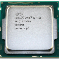Procesor socket 1150 Intel Haswell Refresh, Core i5 4590 3.3GHz +cooler, Intel Core i5, 4
