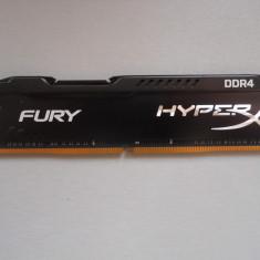 Memorie HyperX Fury Black 8 GB DDR4 2400MHz CL15. - Memorie RAM Kingston, Peste 2000 mhz