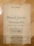 Manual practic de stenografie - Paul Samoila