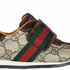 Sneakers Gucci - Adidasi copii Gucci, Marime: 25, Culoare: Maro