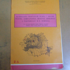 Osand Pomezeu Sohodol Frasinet Risca Vlaha Crairit Zaului 1988 harta geologica