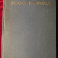 The Times Atlasul Lumii Ed. Completa 1967 dedicat Reginei Elisabeta II 31x46cm, Alta editura