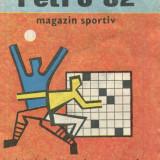 Revistă rebus - Retro '82 - Magazin sportiv